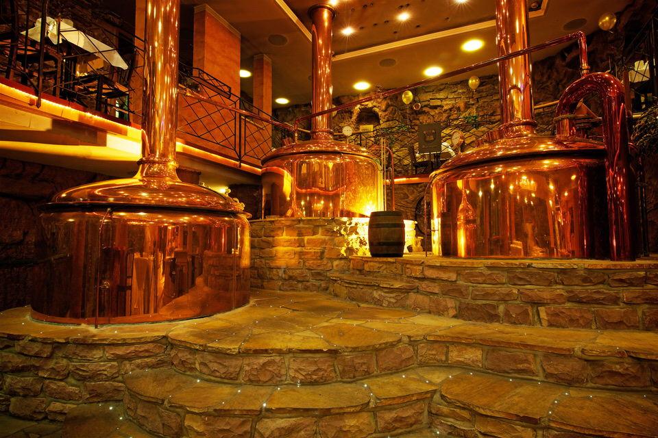 Unsere Sudkessel. Das Herzstück unserer Brauerei