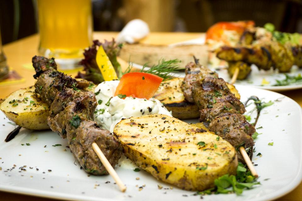 Grill & Salatkarte