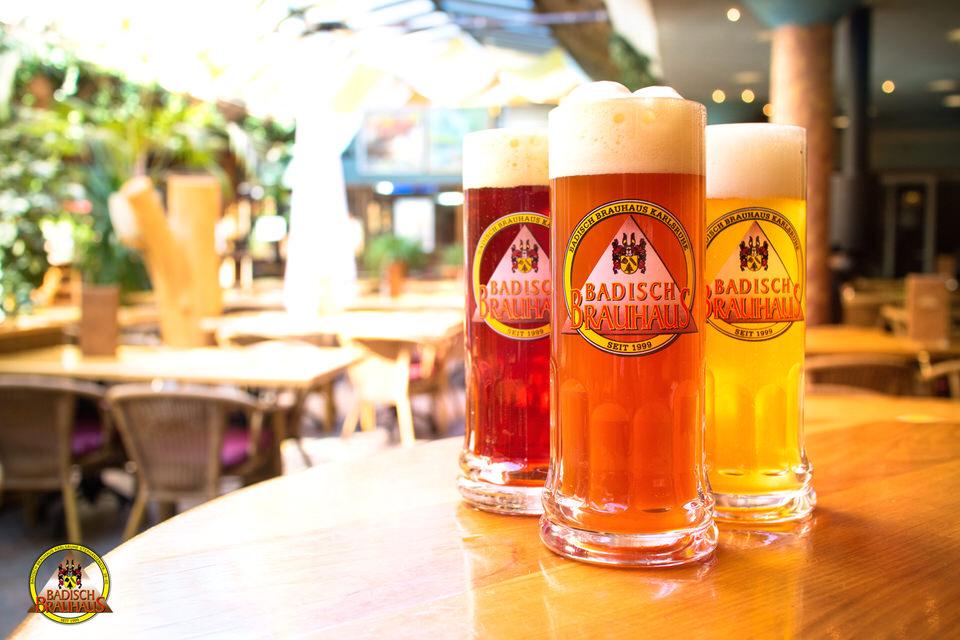 Hausgebrautes Bier