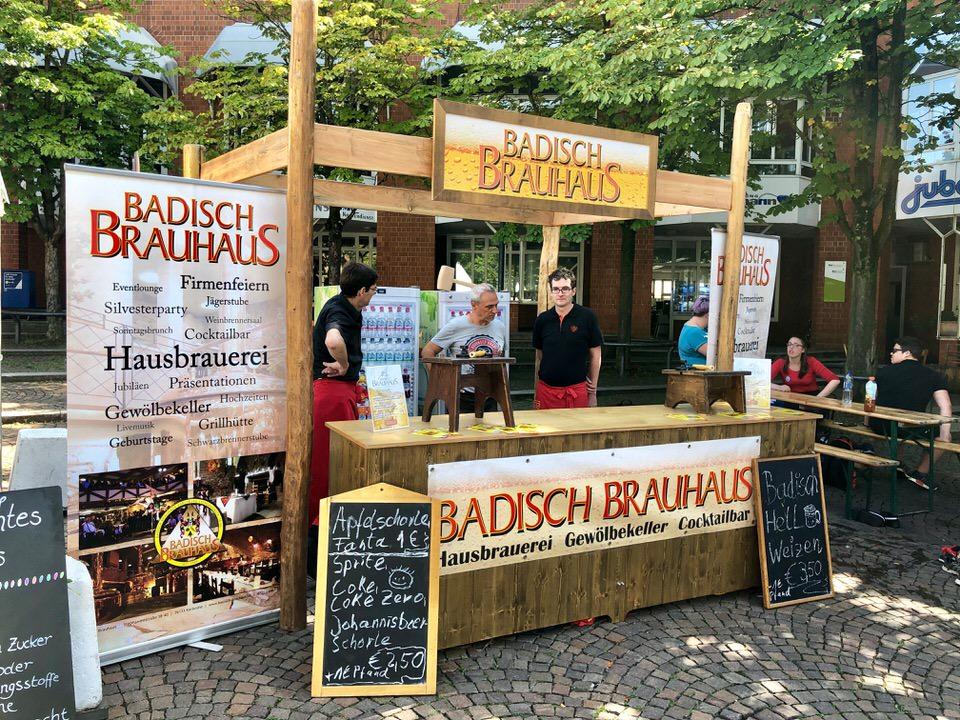 Getränkestand am Kronenplatz