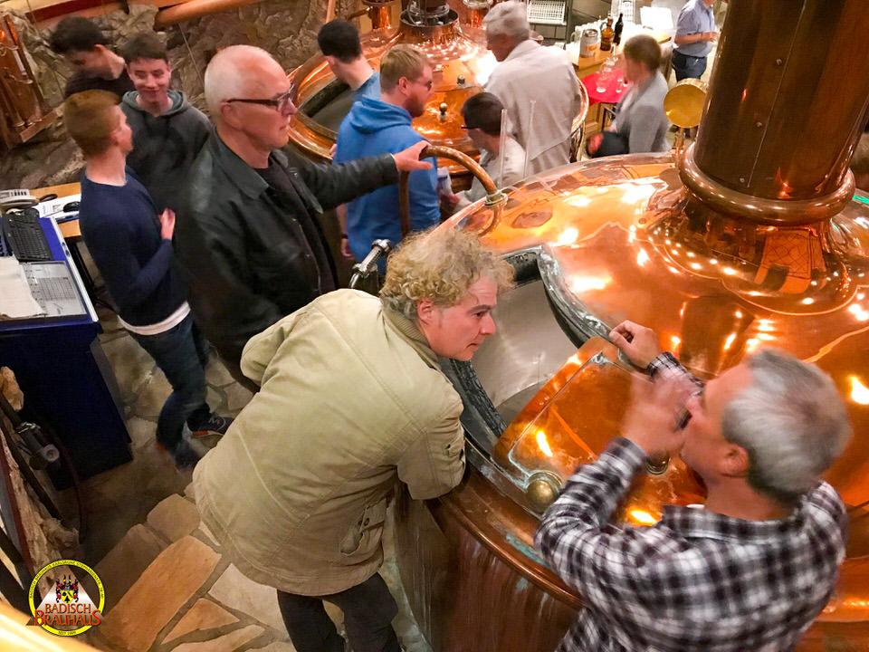 Brauereiführung im Badisch Brauhaus