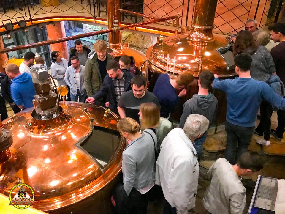 Brauereiführung im Badisch Brauhahus